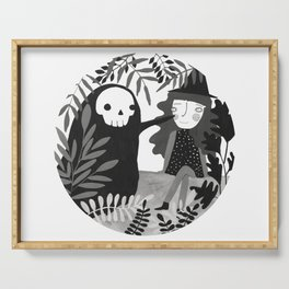 Our skeleton love Serving Tray