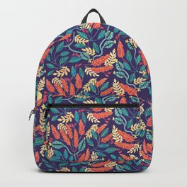 Indigo & Burnt Sienna Backpack