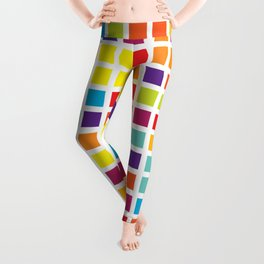 City Blocks - Rainbow #494 Leggings