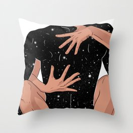 Harder or softe Throw Pillow
