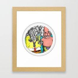 BIKINI BAKED Framed Art Print