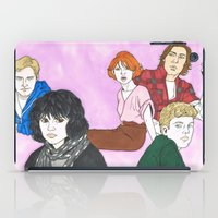 the breakfast club iPad Cases featuring The Breakfast Club by Lucan Joshua Jackson
