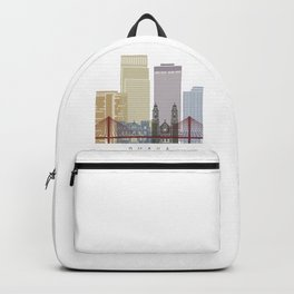 Omaha V2 skyline poster Backpack