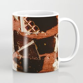 Delicious chocolate cookies in the sunlight Coffee Mug