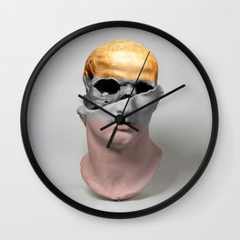 Head of a Youth Sculpture Wall Clock