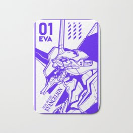 Evangelion eva01 Bath Mat