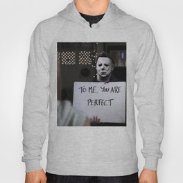 Michael Myers in Love Actually Hoody