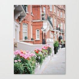Kensington & Chelsea fence Canvas Print