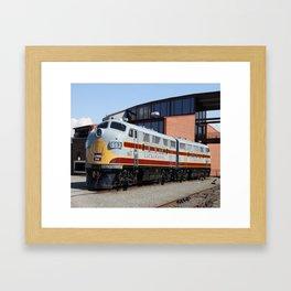 Engine 664 Lakawanna Railroad Framed Art Print