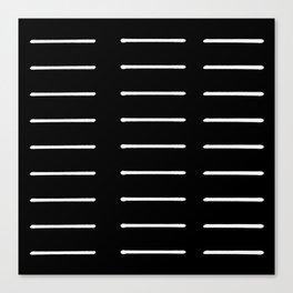 Organic / Black Canvas Print