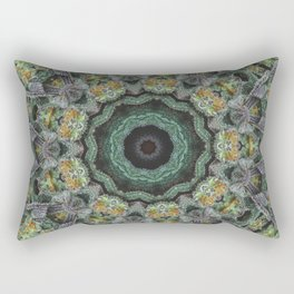 Strawberry Cough Circles Rectangular Pillow