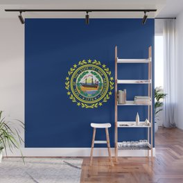 New Hampshire State Flag Wall Mural