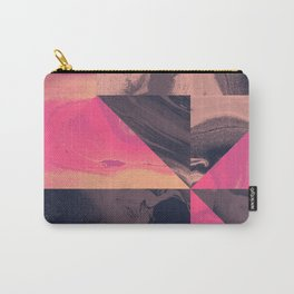 Triangular Magma Carry-All Pouch