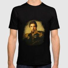 Al Pacino -replaceface Mens Fitted Tee MEDIUM Black