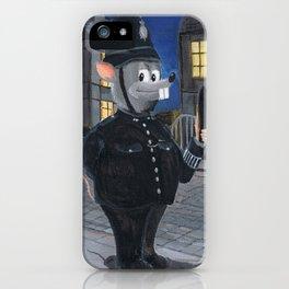 Bobby Rat iPhone Case