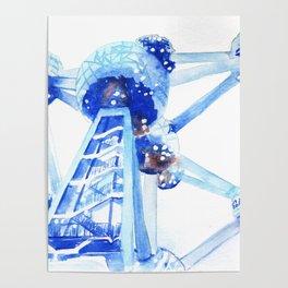Atomium II Poster