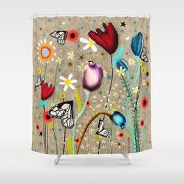 Rupydetequila - Bohemian Paradise Shower Curtain