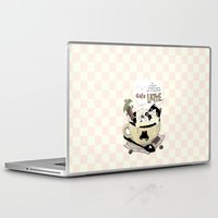 cafe Laptop & iPad Skins featuring Cafe Latte by ShangheeShin