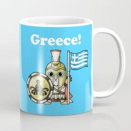 Greekcat Blue Coffee Mug