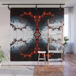 Fractal Art - Fire Arch I Wall Mural