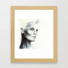 girl 2 Framed Art Print