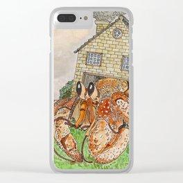 Hermit Apocalypse Clear iPhone Case