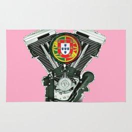 Portuguese pure evol hot  pink Rug