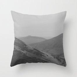 Dark Landscape 6 Throw Pillow