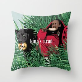King's dead Throw Pillow