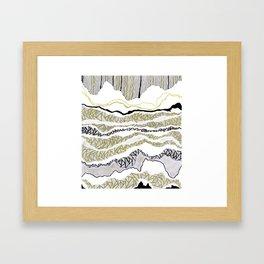 Linescape Framed Art Print
