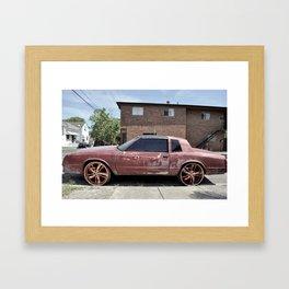 Rims - New Orleans, Louisiana Framed Art Print