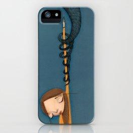 drowned in Liquid  iPhone Case