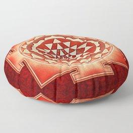 Sri Yantra V Floor Pillow