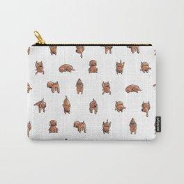 Wooferland: Wooferdog pattern Carry-All Pouch