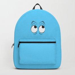 Monster Eyes Blue Backpack