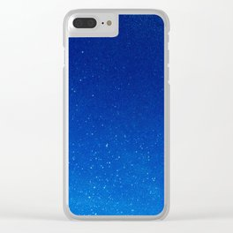 Drops of Space Clear iPhone Case