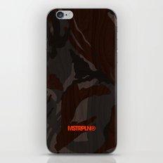 Modern Woodgrain Camouflage / British DPM iPhone Skin