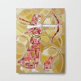 Pop Artemis Metal Print
