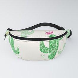 Linocut Cactus #2 Fanny Pack