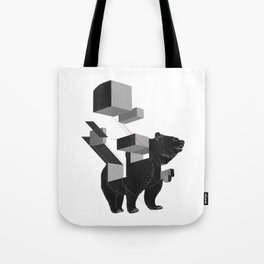bear_deconstructed Tote Bag