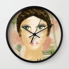Pinceladas Wall Clock