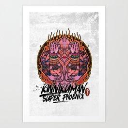 Muscle man#02 Art Print