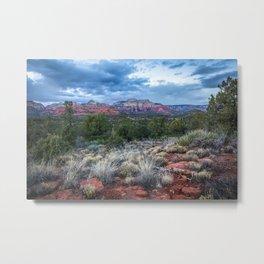 Sedona - Cool Vibes in the Desert Landscape in Northern Arizona Metal Print