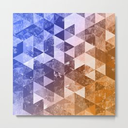 Abstract Geometric Background #2 Metal Print