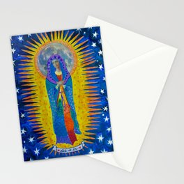 "Mary: ""Let it Be"" Stationery Cards"