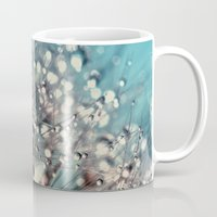dandelion Mugs featuring Dandelion by Color and Patterns
