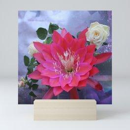 Roses Are White, Cactus is Rose... Mini Art Print