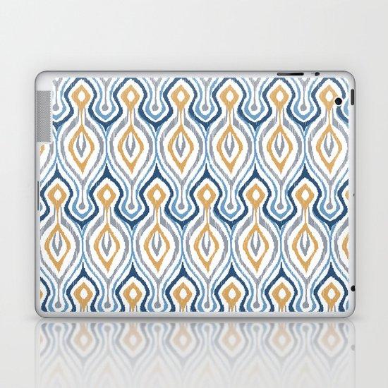 Sketchy Ikat - Saddle Laptop & iPad Skin