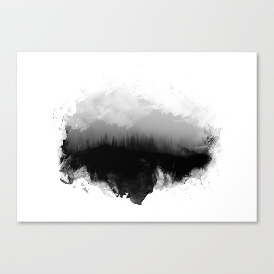 Deep into the forest Canvas Print