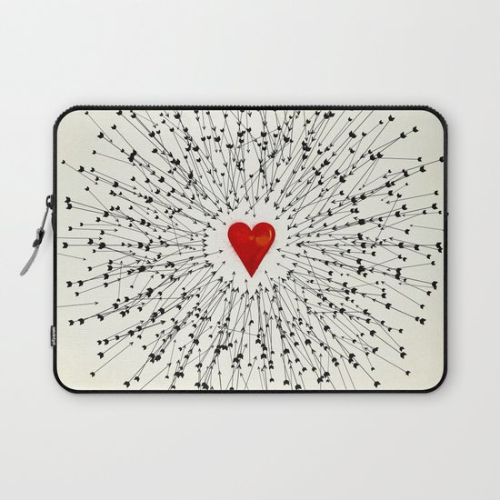 Heart&Arrows Laptop Sleeve